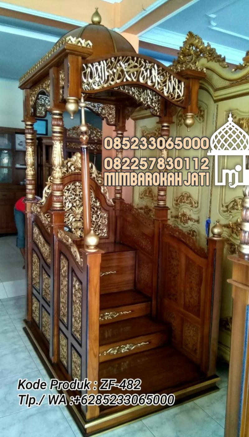 Mimbar Sunnah Ornamen Arabic Masjid Besar Menteng